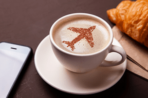 Love a pre-flight meal or drink? Consider a premium lounge pass