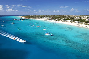 Turks and Caicos Islands in the Caribbean